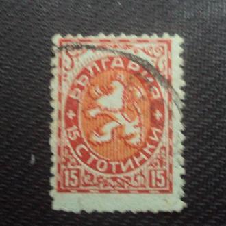 Болгария 1881г. гаш.