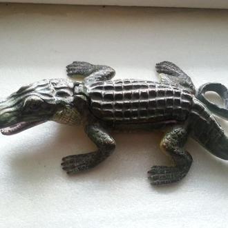 """Венская бронза """" Крокодил """" - Большой размер !"""