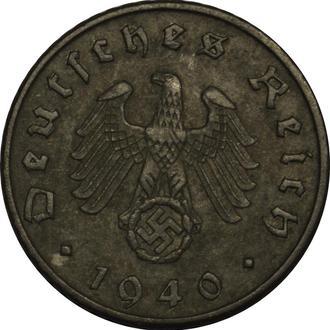 Німеччина 5 Pfennig 1940 F
