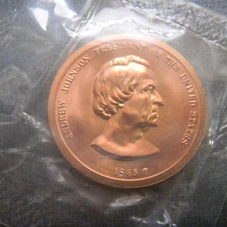 США медаль 1850 UNC Президент Филлмор Запайка