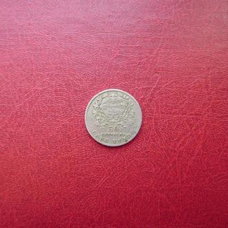 Кабо-Верде 50 сентаво 1930 Редкая. Португальская колония.