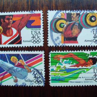 США.1983г. Летние олимпийские игры. Полная серия.