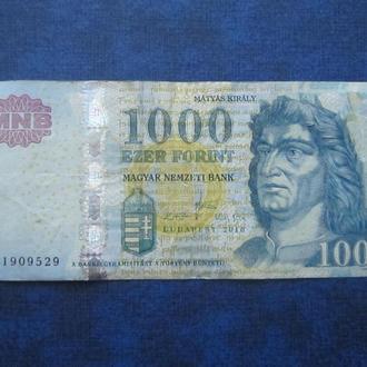банкнота 1000 форинтов Венгрия 2010