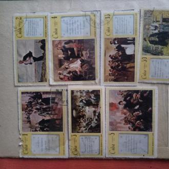 Коллекция марок Cuba Correos 1970