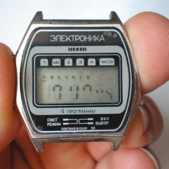 часы Электроника 4 программы 2302