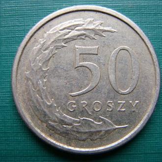 Польша 50 грош 2012