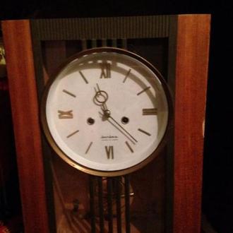 Антикварные часы Янтарь 1976 (антикварний годинник янтар)