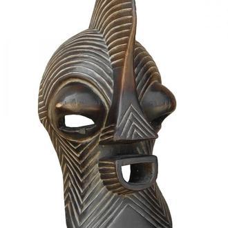 Маска африканская ритуальная, дерево цейба
