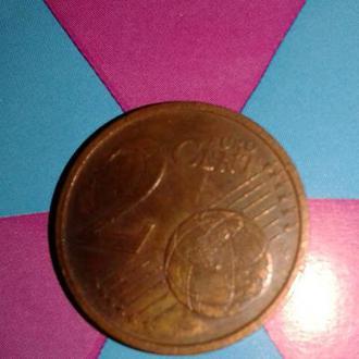 Германия 2 цента евро цента 2008
