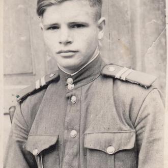 Сержант МВД. 1947 г.