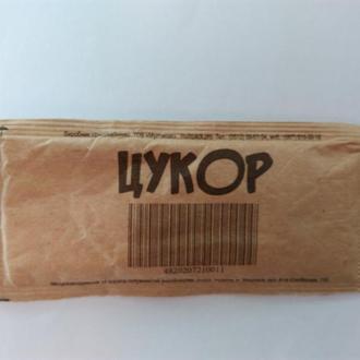 Пакетик з цукром