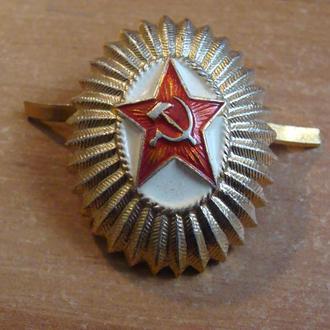 кокарда   ВС СССР  офицерская  (3)