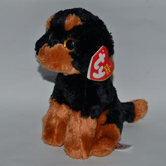 новая мягкая игрушка собачка ty original beanie babies brutus 2015  оригинал
