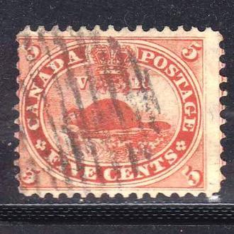 Канада 1859 г - гаш - фауна