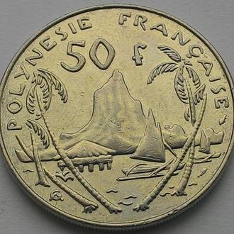 Полинезия 50 франков 1985 г. ОТЛИЧНЫЙ СОХРАН!!!