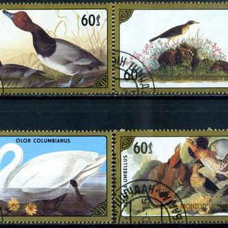 Монголия. Птицы (серия) 1986 г.