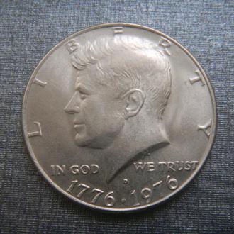 США 1/2 доллара 1976 D