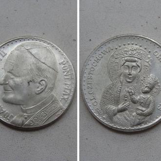 Жетон . Ватикан. JOANNES PAVLVS II / Czestochowa