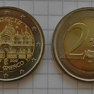 Италия 2 евро, 2017, Венеция