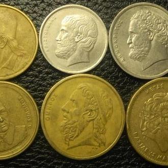 Комплект монет Греції