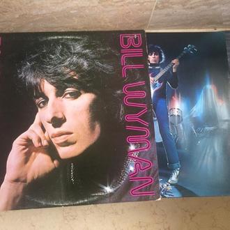Bill Wyman (+ Ron Wood = ( Rolling Stones ) +   Joe Walsh ( Eagles )  ( USA )  Blues Rock   LP