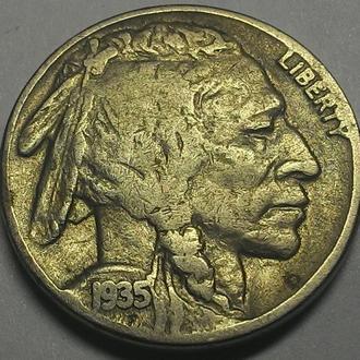 США 5 центов 1935 год