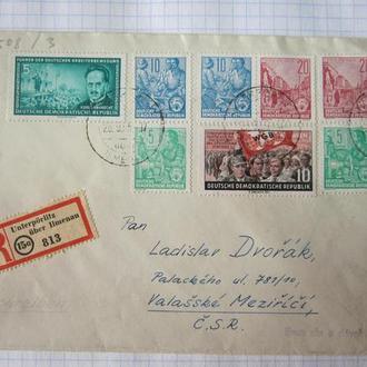 КОНВЕРТ. ЦЕЛЬНАЯ ВЕЩЬ. ГДР 1955 Г