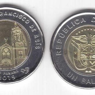 Shantaaal, Панама 1 бальбоа 2018-2019. Церковь Святого Франциска Ассизкого