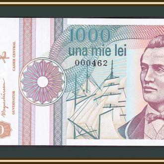 Румыния 1000 лей 1991 P-101 (101Аb) UNC