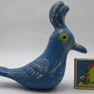 Игрушка Птица резиновая   СССР
