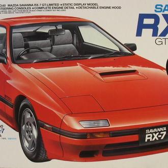 Сборная модель автомобиля Mazda Savanna RX-7 GT-Limited  1:25 Tamiya 24060