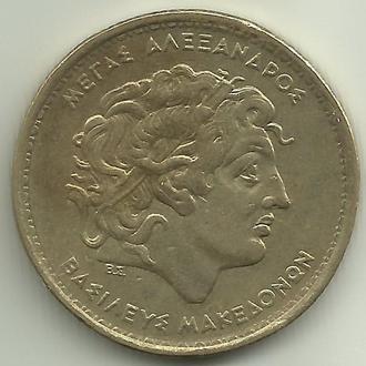 Греция 100 драхм 1994 aUNC