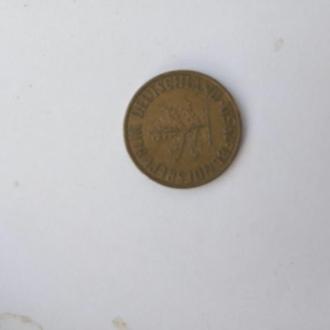 10 пфенингов ФРГ 1950 год