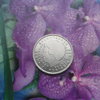 Голландия 1гульден 2001г