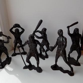 Солдатики 6 шт СССР Неандертальцы Полный набор