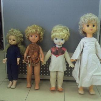 игрушка детская кукла винтаж ссср лот 4 шт №3