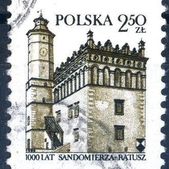 Польша. Архитектура (серия) 1980 г.