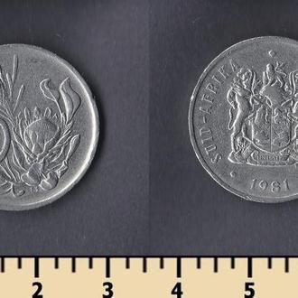 ЮАР 20 центов 1981