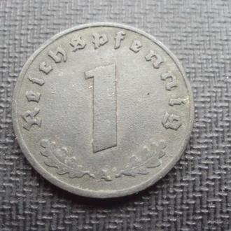 Германия 3-й Рейх 1 рейхспфен. 1941г. А.