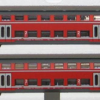 Пассажирские  2-этажные вагоны Piko-2шт