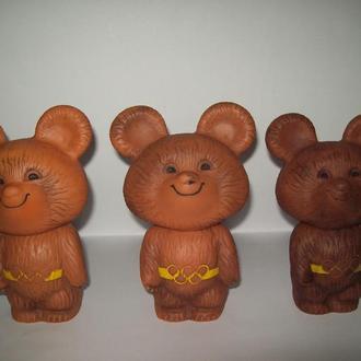 Игрушка Олимпийский мишка про-во СССР