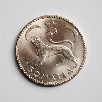 Сомали 1 сомало 1950 г., UNC, 'Сомало (1950 - 1960)'
