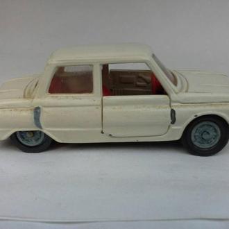 Автомобиль модель 1 :43 СССР запорожец металлический