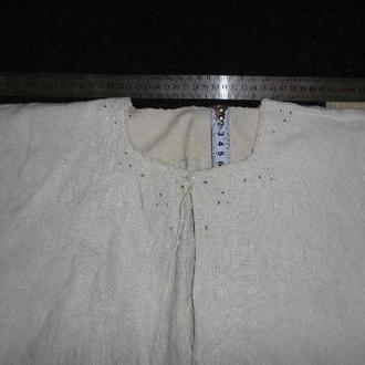 вишита сорочка жiноча домоткане полотно (№690)