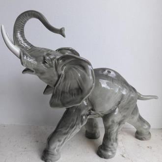 Фарфоровая статуэтка слон  Hutschenreuther германия