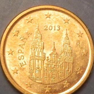 1 євроцент 2013 Іспанія