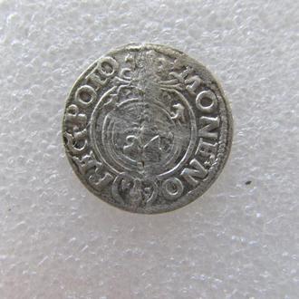 монета средневековья 1621 г.