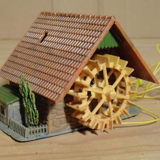 (1494) строение для макета в масштабе TT ~ H0 (1:87)