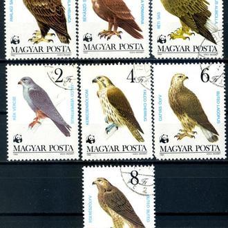 Венгрия. Птицы (серия) 1983 г.