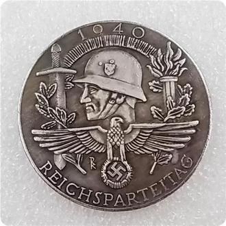Памятная медаль Митинг нацистской партии 1940